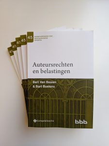 Auteursrechten en belastingen